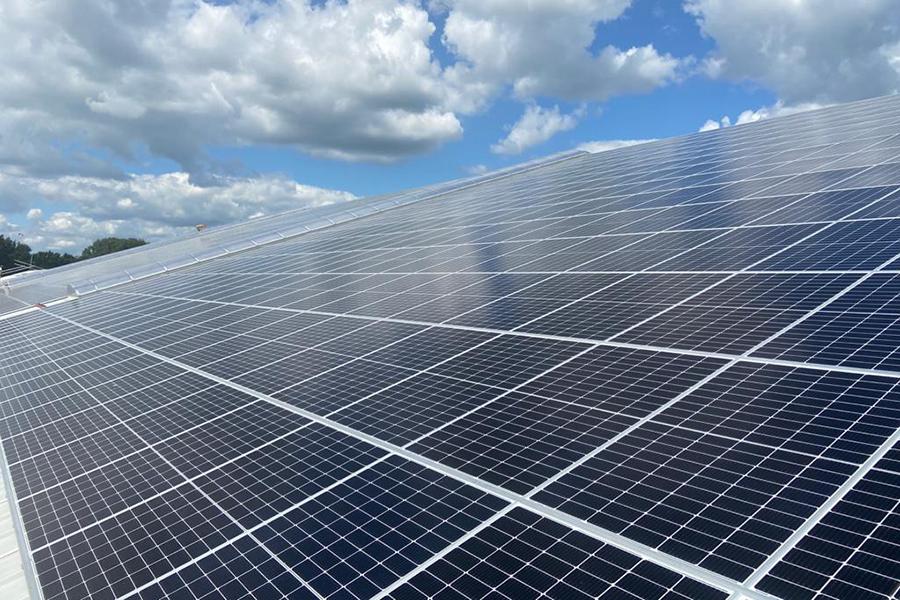 2020 – 3400 zonnepanelen